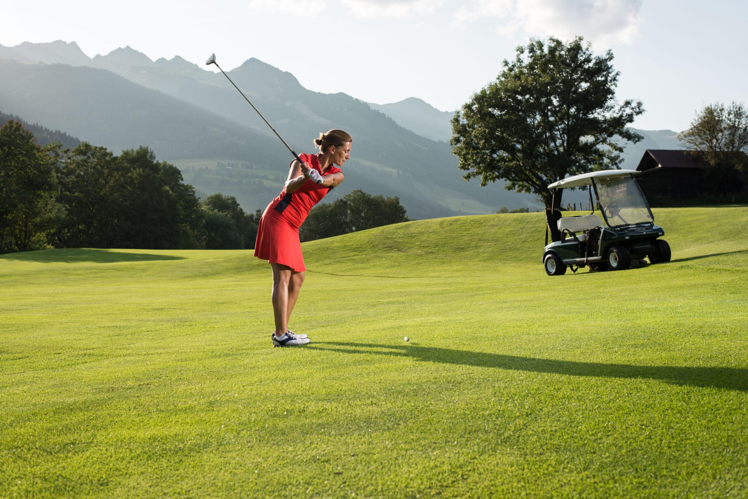 Golf in Gastein (c) Gasteinertal Tourismus GmbH, Marktl (11)