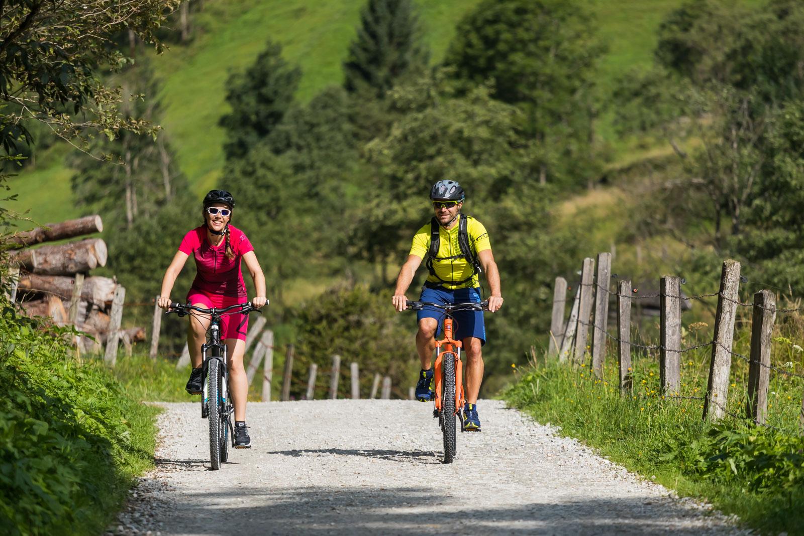 Mountainbiken in Gastein (c) Gasteinertal Tourismus GmbH, Krug (4) - Kopie
